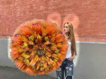 Невероятные бумажные цветы датской художницы