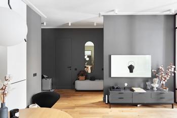Двухкомнатная квартира в духе «правильного минимализма»