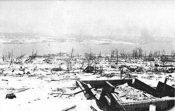 Катастрофический взрыв, или как параход погубил город