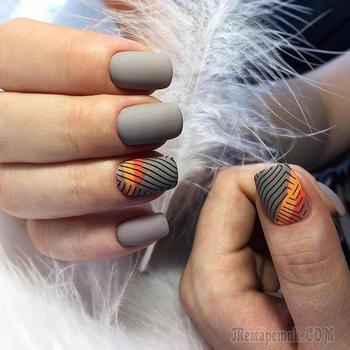 Маникюр на короткие ногти осень: 25 отличных идей для холодного сезона