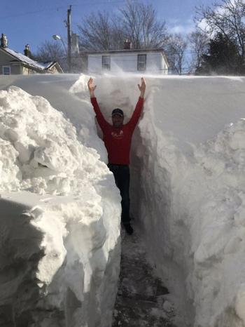 Тем временем в Канаде (снежная версия)