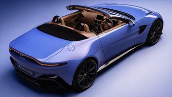 Родстер Aston Martin Vantage быстрее всех снимает шляпу