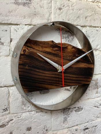 Изготавливаем настенные часы в стиле Loft