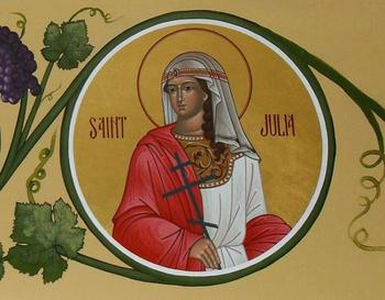 Икона святой Иулии