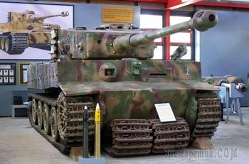 Главный экспонат: «Тигр» с историей