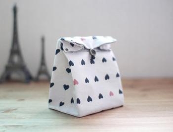 Подарочный пакет из ткани своими руками