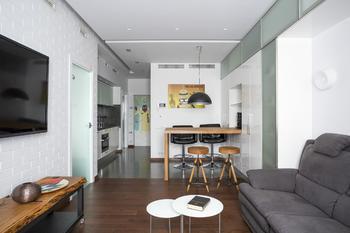 Квартира 44 кв.м. с кухней практически в прихожей