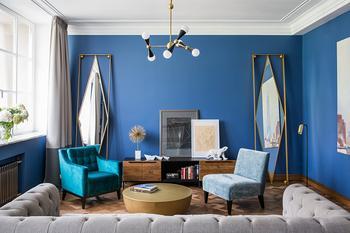 Дизайн квартиры в духе 1930-х годов