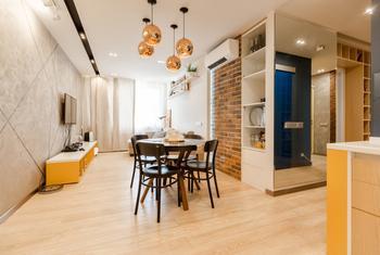 Яркая квартира на Беговой для молодоженов