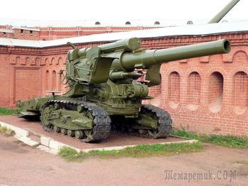 203-мм гаубица большой мощности Б-4