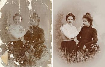 Фотошоп творит чудеса: 20 ретро фотографий мастерски восстановленных из старых снимков