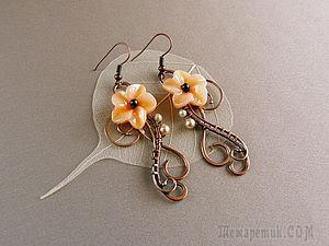 Капельки на проволоке или wire wrap для новичков