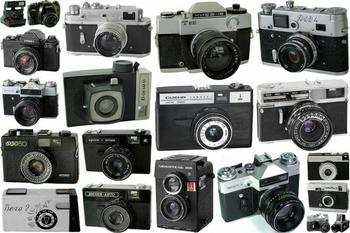Фотоаппараты из СССР