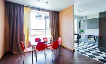 Московская квартира с отделкой в испанском стиле