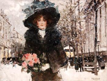 Променад по Парижу... Виктор Герье, французский художник (1893-1968)