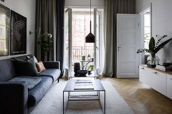 Небольшая квартира музыканта в Стокгольме