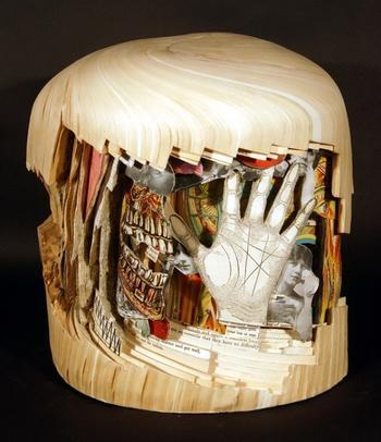 Книжное искусство — миниатюры Brian Dettmer
