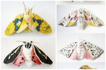 Удивительные бабочки от Окита Юми