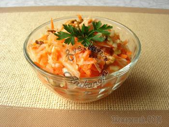 Салат из топинамбура «от 100 хворей» - быстро, вкусно и полезно!
