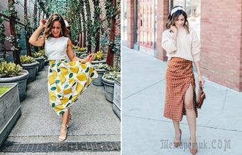 Как и с чем носить длинную юбку, чтобы выглядеть модно и стильно