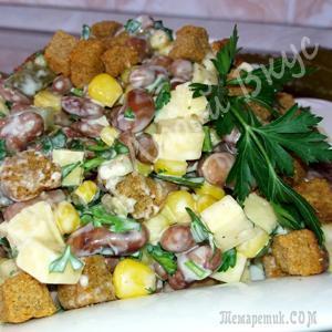 Шустрый салат - моментально готовится и еще быстрей съедается