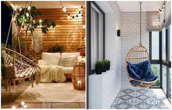 9 способов создать расслабляющую атмосферу на балконе, террасе или в беседке