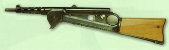 Пистолет-пулемет с продольным расположением магазина - ZB-47