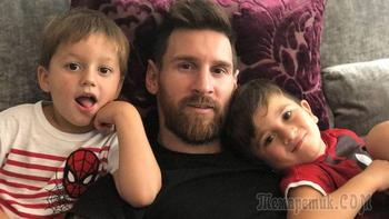 Многодетный отец: семья Лионеля Месси