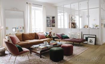 Стильная квартира в Париже для семьи с двумя детьми