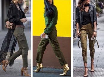 Модные и стильные брюки-карго: как правильно носить