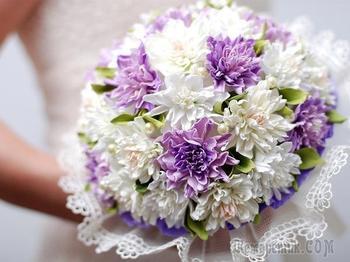 Создаем из фоамирана букет невесты