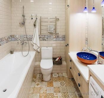 Ванная, совмещенная с туалетом – особенности оформления