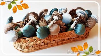 Осенняя декорация: делаем уютные грибочки