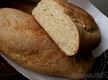 Пшеничный хлеб с отрубями - полезно и вкусно