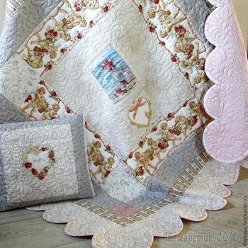 Мастер-класс по пошиву детского одеяла с вышивкой