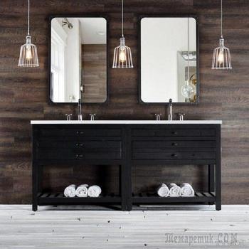 Идеи использования древесины для обновления стен