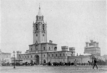 Колокольня Страстного монастыря на Тверской … «Быть ей или не быть, вот в чём вопрос…»
