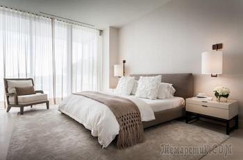 20 примеров дизайна интерьера спальни в светлых тонах, которые преобразят любую комнату
