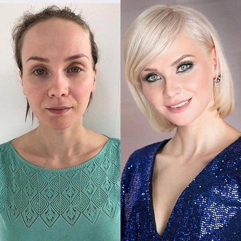 Российский стилист показал, как причёска и макияж могут изменить абсолютно любую женщину