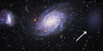 """""""Галактика-призрак"""" обнаружена вблизи Млечного пути"""