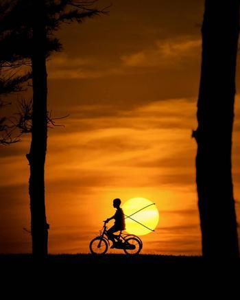 Индийский фотограф, который делает захватывающие фотографии на закате