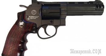 Пневматический револьвер Borner Sport 705 — оружие для «настоящих ковбоев»