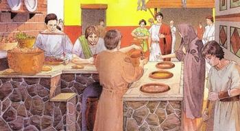 Картошку фри, пожалуйста! О фастфуде в Древнем Риме