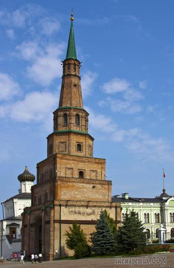 Прогулка по Казанском Кремлю