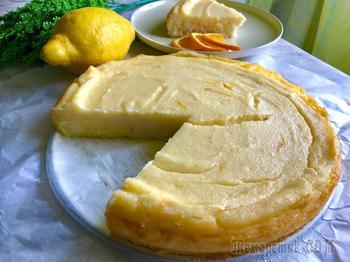 Итальянский пирог с манкой