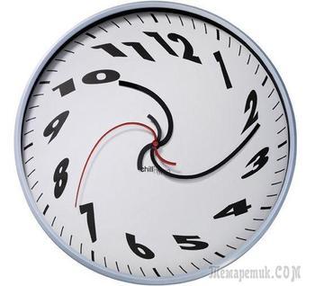 Часы во вчера (Стих)