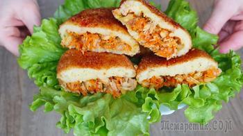 Картофельные зразы с мясом или как вкусно и просто накормить всю семью