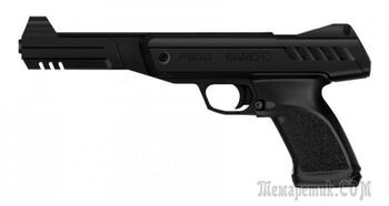 Необычный испанский пневматический пистолет Gamo P900
