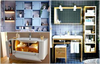 17 крутых идей, которые помогут организовать хранение в ванной комнате