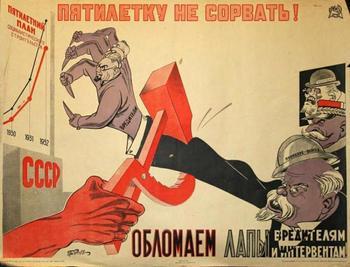 О масштабах саботажа 1920-30 годах в СССР